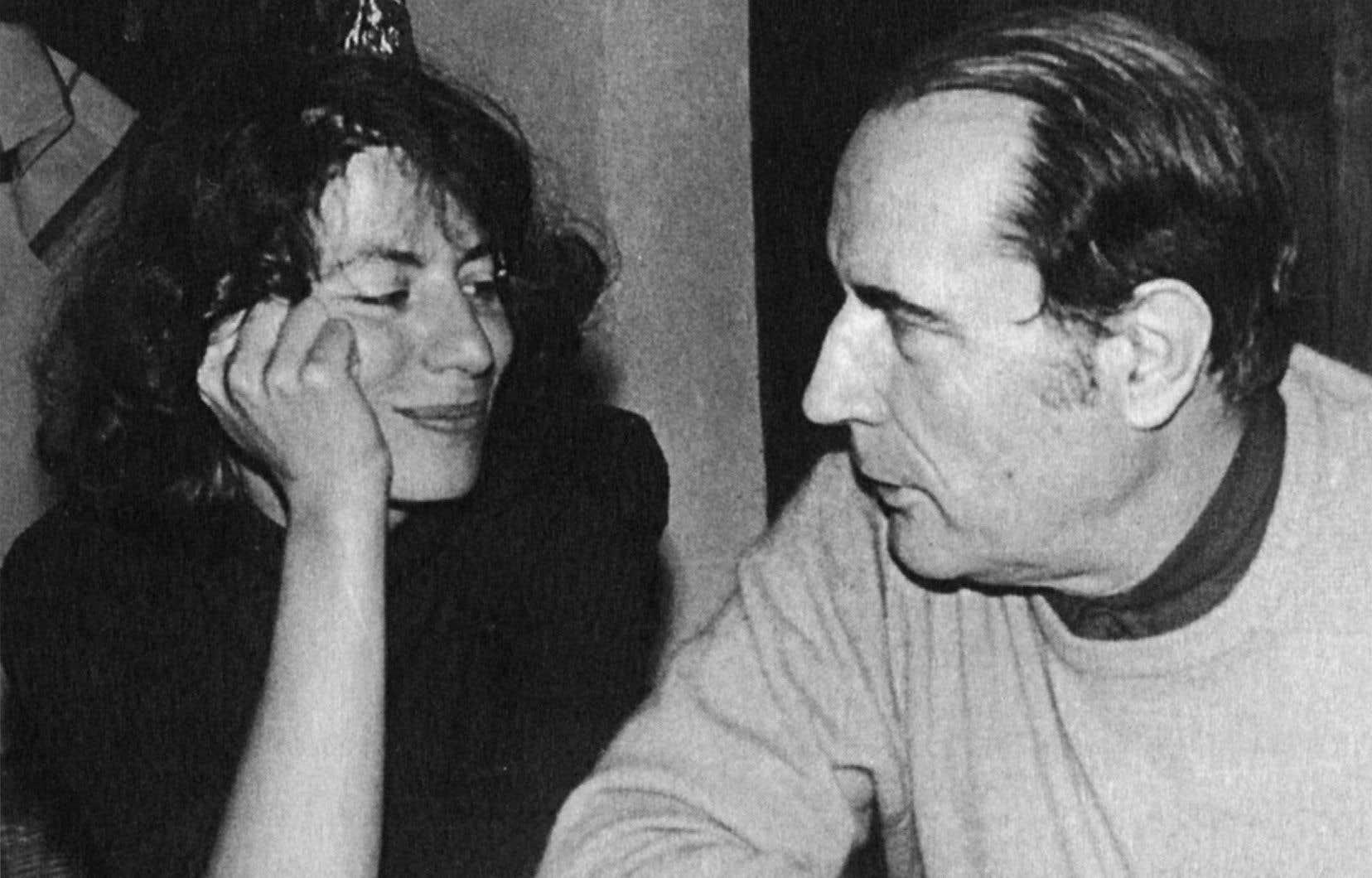 Anne et François à Massevaques, dans le sud de la France, en 1973