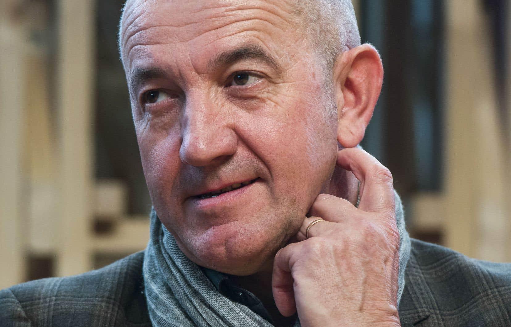 L'écrivain, cinéaste et dramaturge français Philippe Claudel. Son livre «L'archipel du Chien» rappelle par certains aspects la tragédie grecque.