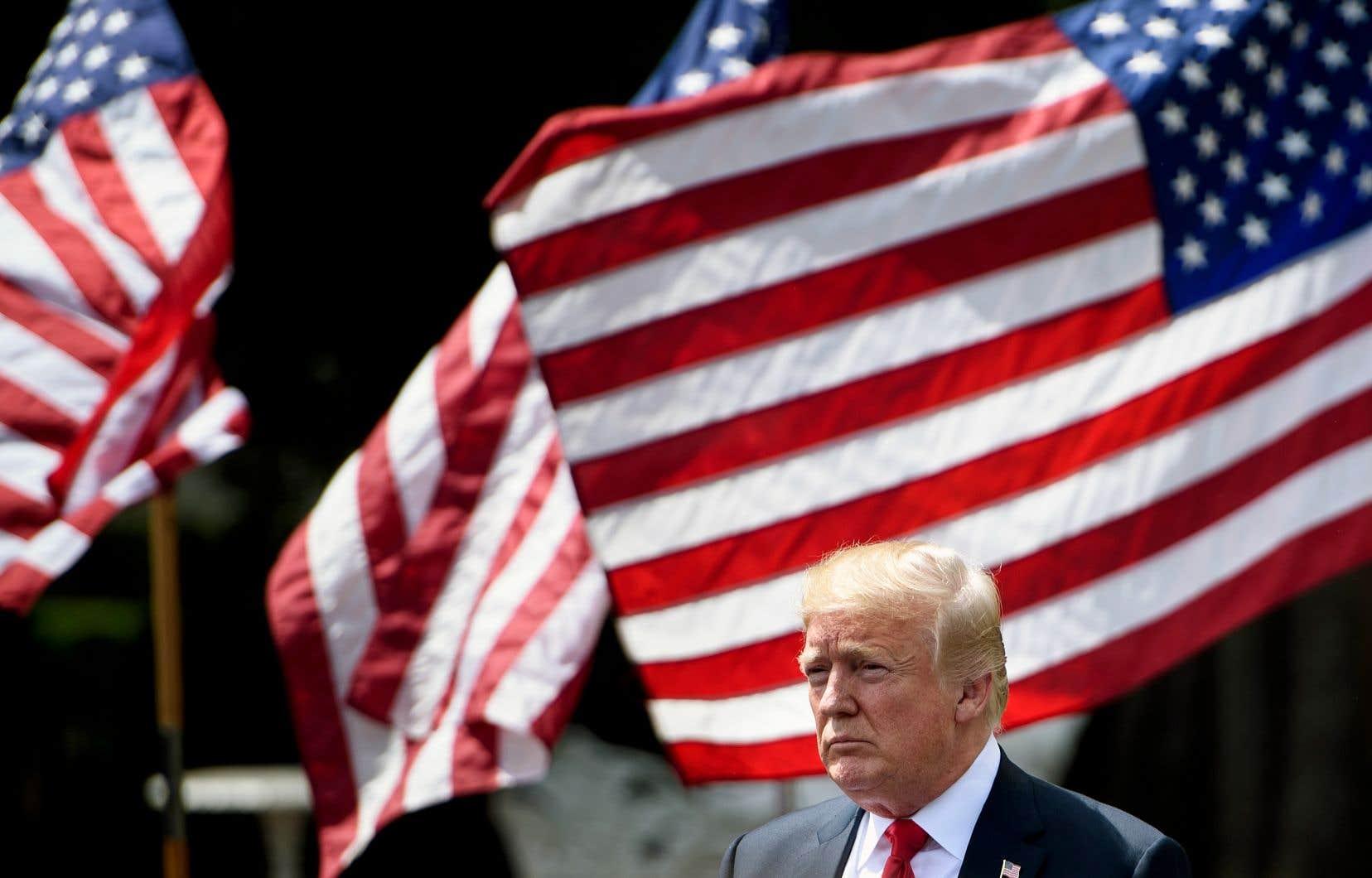 «Le commerce entre nos nations est très inéquitable, depuis très longtemps», a fait valoir Donald Trump.