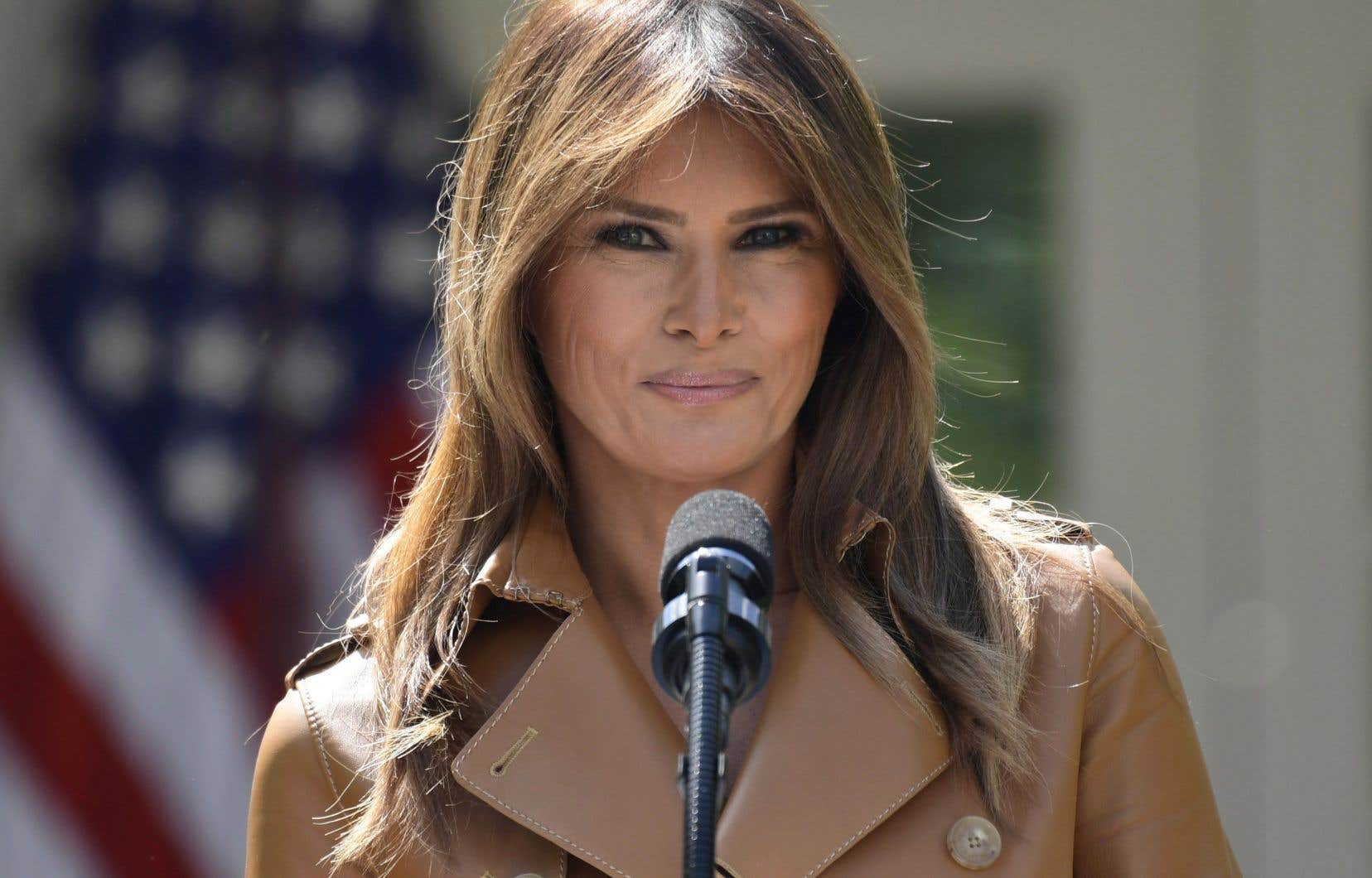 La Première dame américaine, Melania Trump
