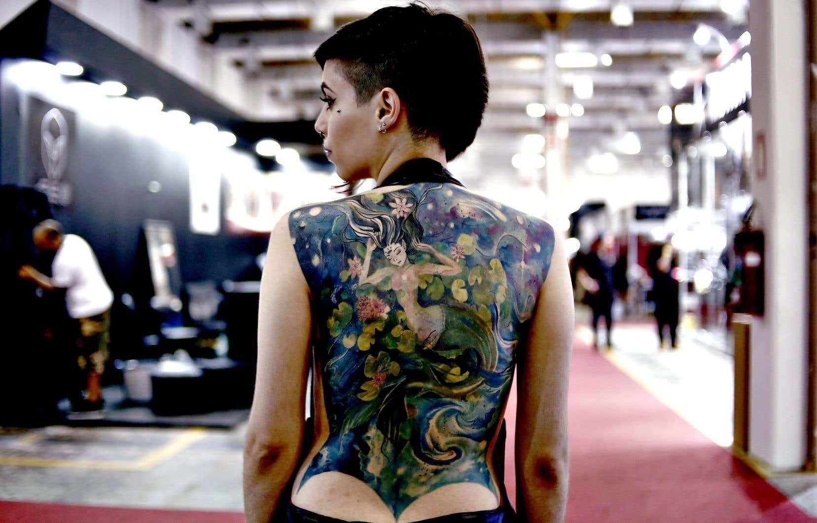 Il n'y a rien de surprenant à ce que les photos de corps, d'athlètes, de mannequins ou de tatoués prennent une place importante sur Instagram, qui réunit 800millions d'utilisateurs partageant chaque jour 100millions de photos et 4milliards de mentions «J'aime».