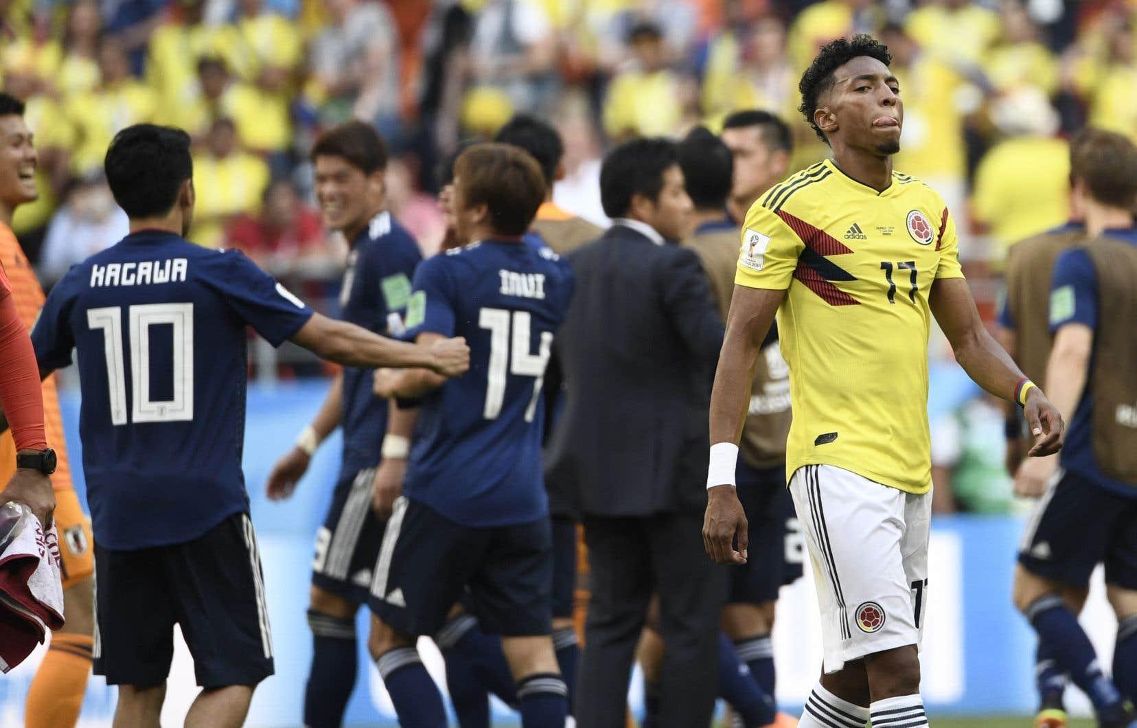 La Colombie a perdu 2-1 contre l'adversaire supposé le plus faible de son groupe, le Japon.