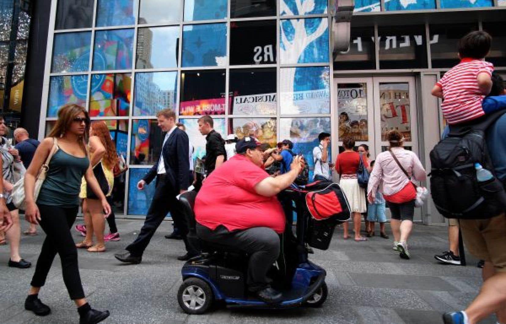Le nombre de personnes obèses a fortement augmenté entre 2001-2004 et 2013-2016, partout aux États-Unis
