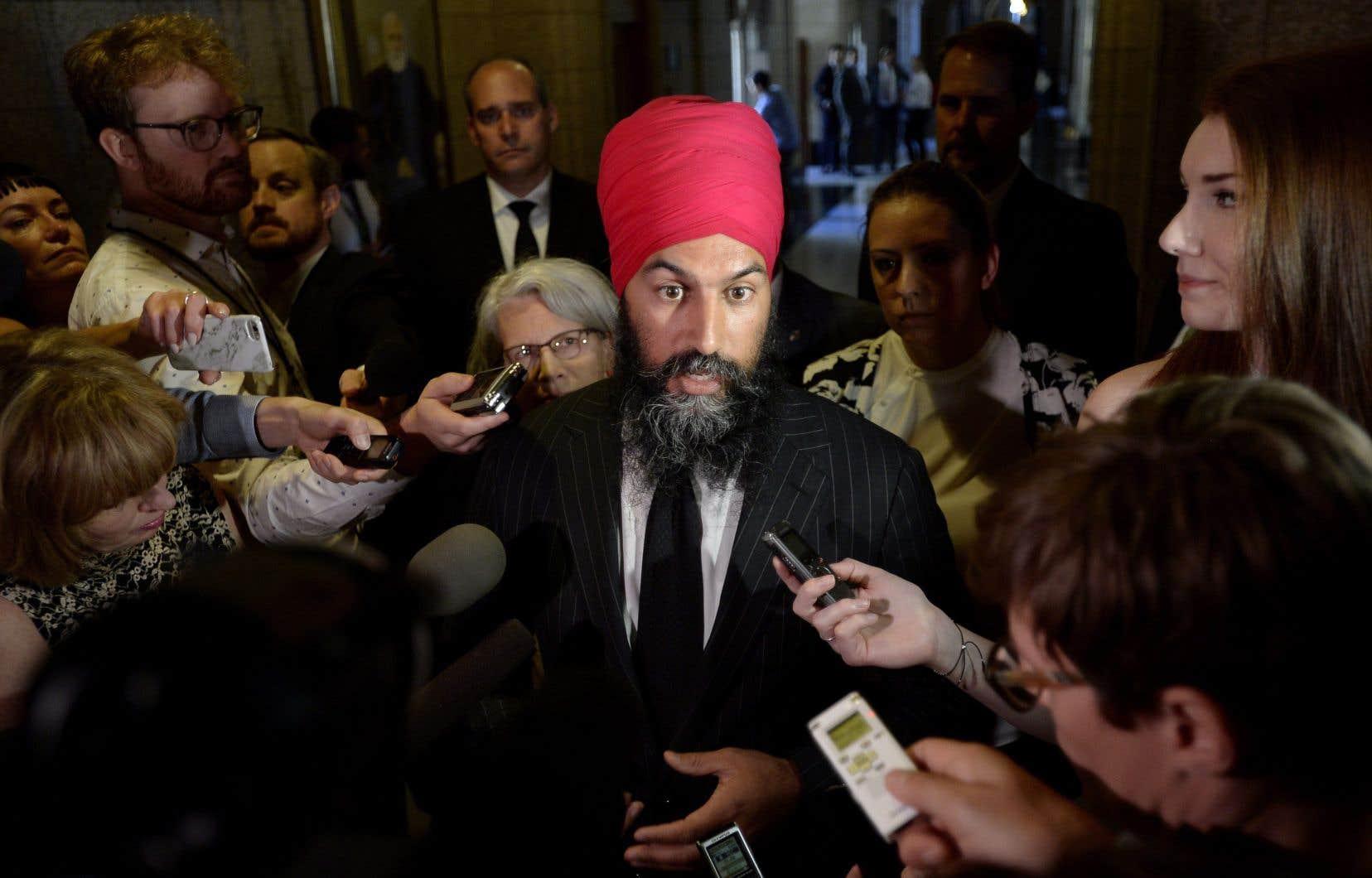 Jagmeet Singh a reconnu mardi que son parti a beaucoup de travail à faire d'ici les prochaines élections générales pour reconquérir l'électorat québécois.