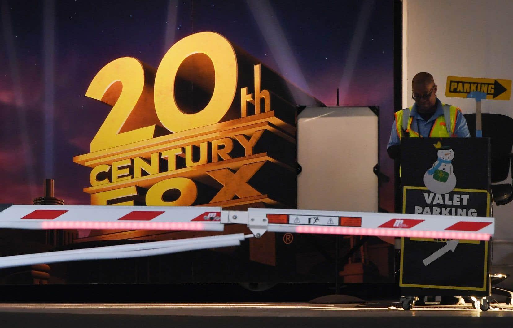 Walt Disney à porté son offre à 71,3 milliards de dollars pour prendre le contrôle de Fox. Sur la photo,l'entrée de Fox Studios, à Los Angeles.