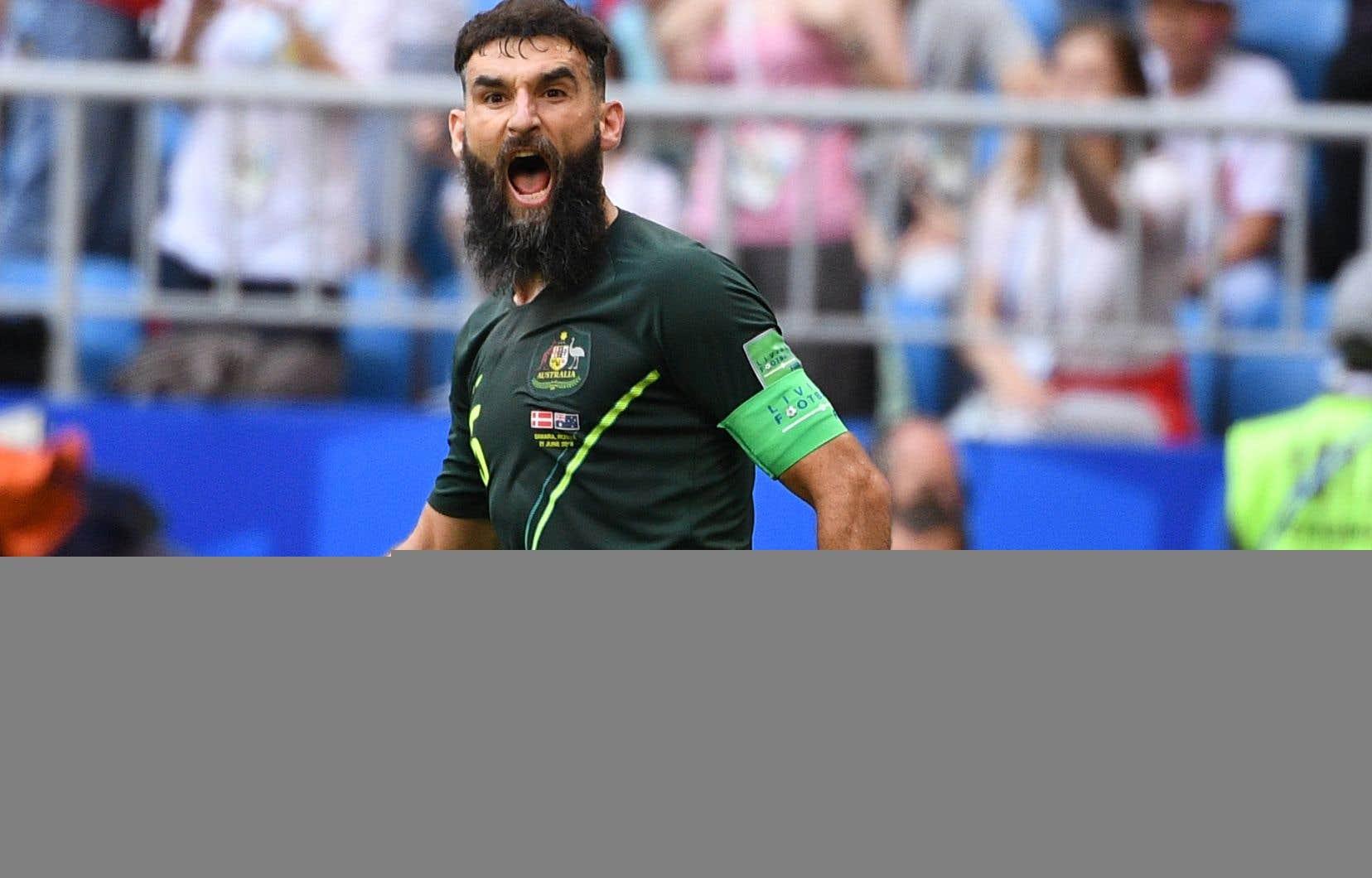 L'Australien Mile Jedinak a transformé en but son troisième tir de pénalité en Coupe du monde.