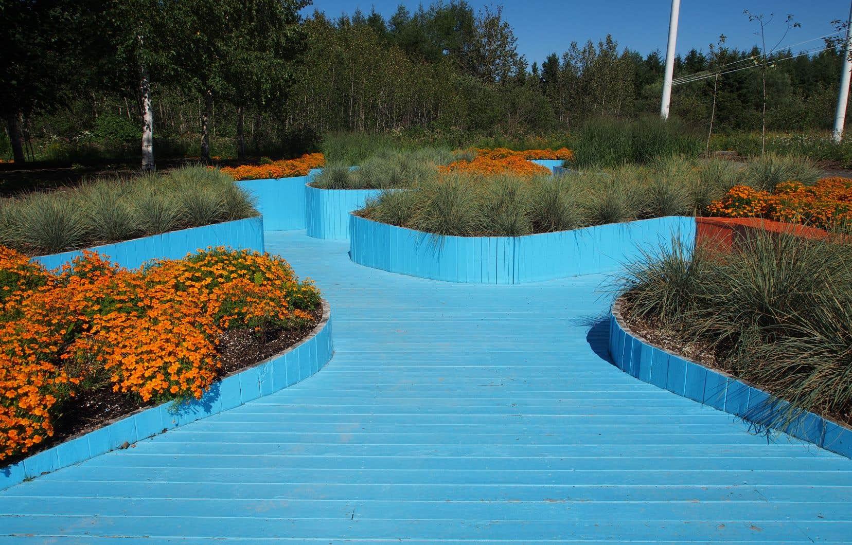 Les exceptionnels Jardins de Métis sont situés au bord du fleuve, au début de la Gaspésie.