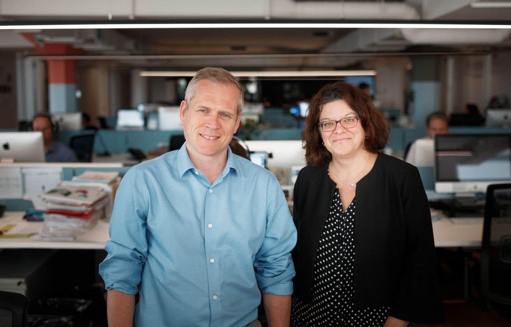 Le directeur du «Devoir», Brian Myles, a annoncé la nomination de Marie-Andrée Chouinard à titre de rédactrice en chef du quotidien.