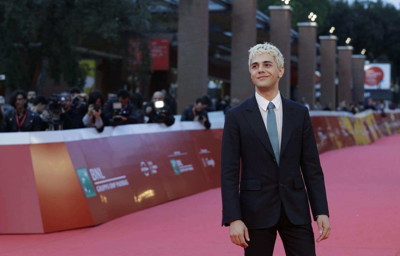L'acteur et réalisateur Xavier Dolan, à Rome, en octobre 2017