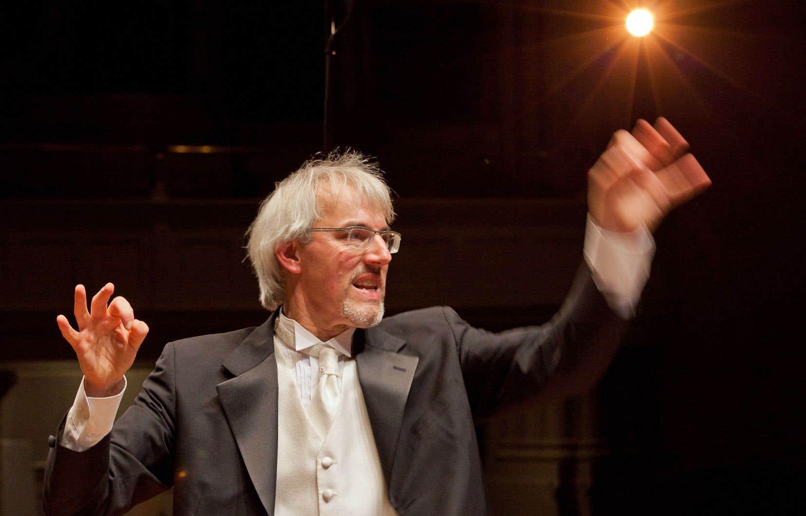 Une musique bien menée par le chef Matthias Maute qui semblait plus tempéré qu'à l'habitude à la tête d'un excellent orchestre.