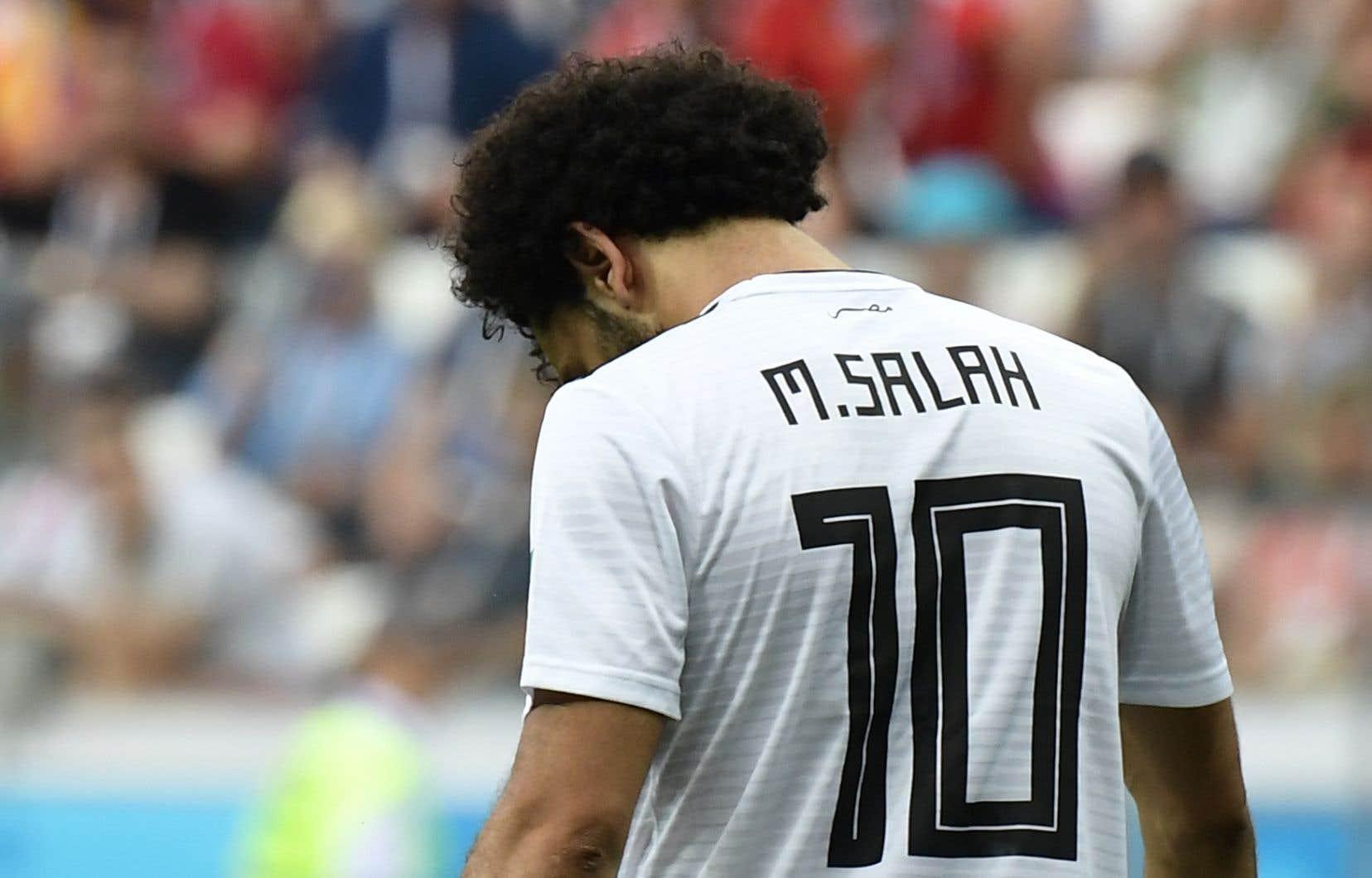 Mohamed Salah, vedette de Liverpool et de l'Égypte, a passé une Coupe du monde en forme de calvaire.
