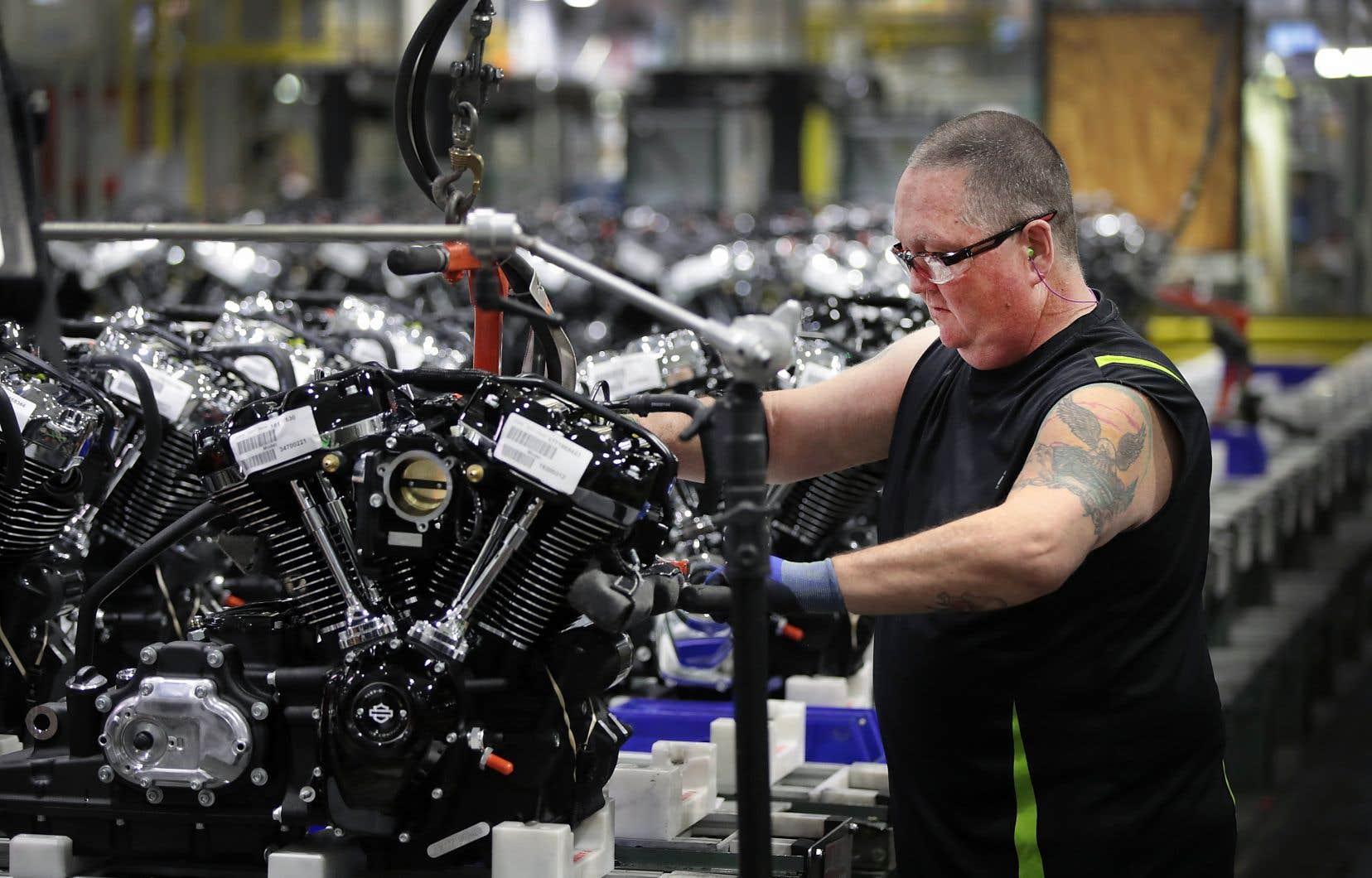 Harley-Davidson a annoncé lundi son intention de délocaliser une partie de sa production hors des États-Unis.