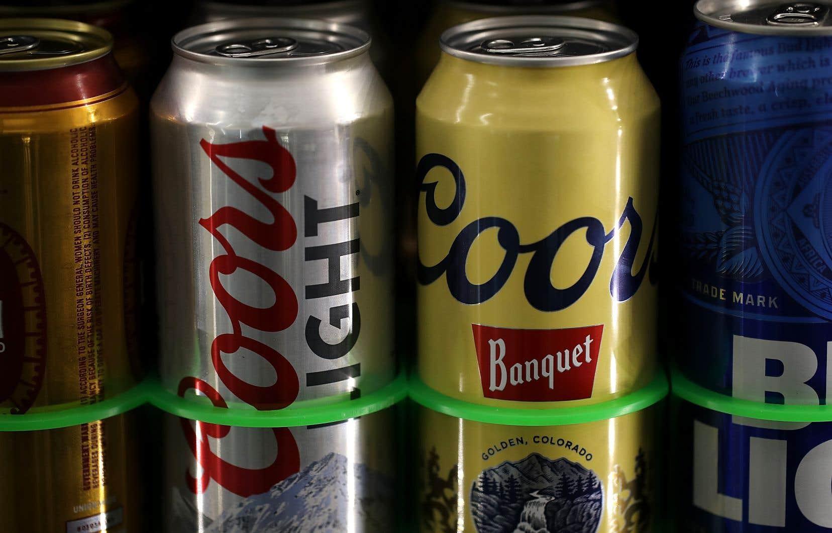 La substance associée aux coûts les plus élevés est l'alcool (14,6 milliards de dollars).