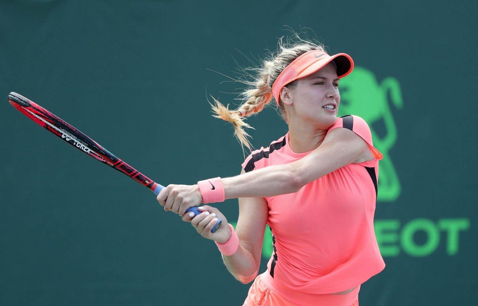 Eugenie Bouchard, de Westmount, fut finaliste à Wimbledon il y a quatre ans.