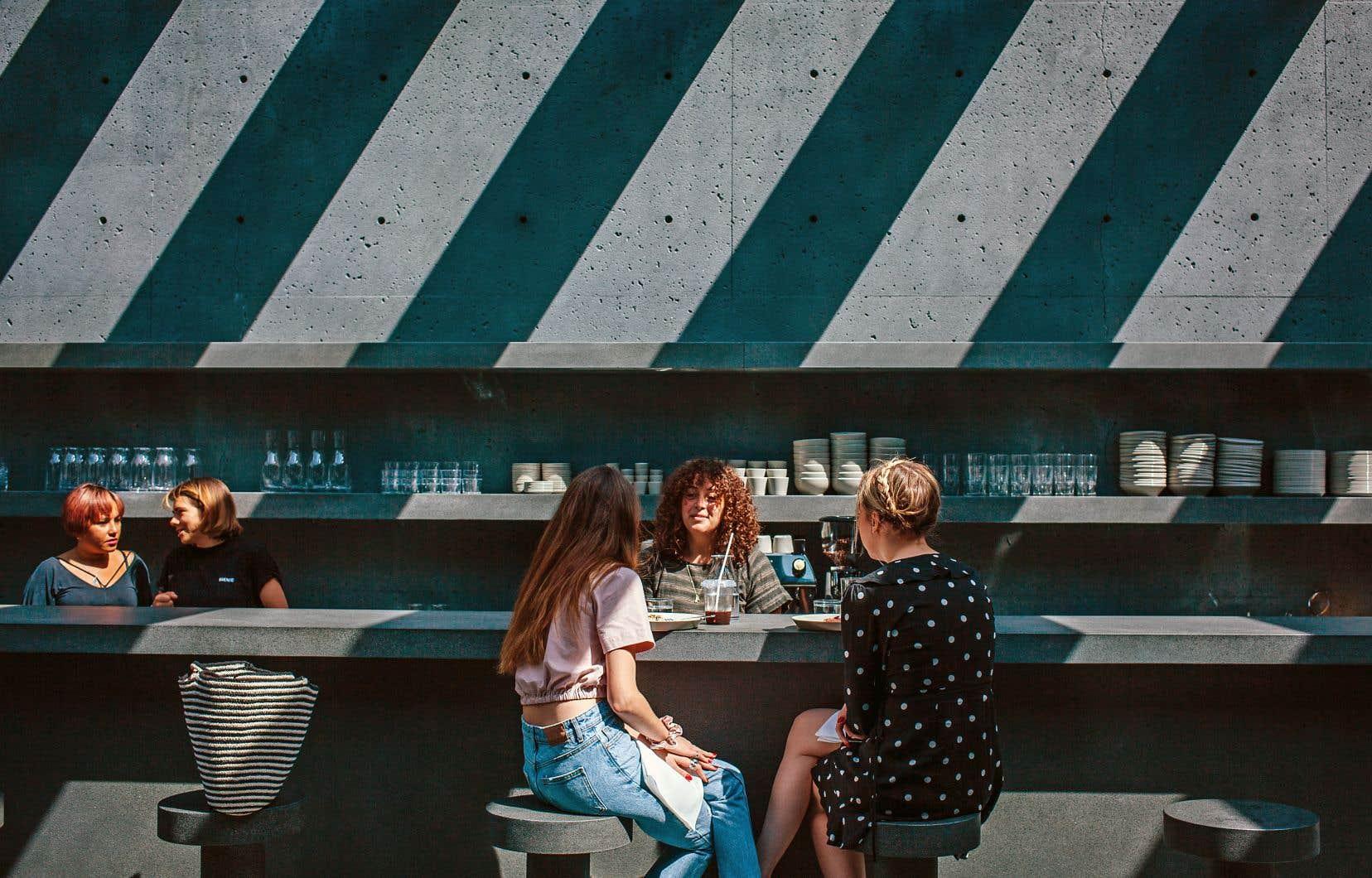 Bien que Ssense soit un café, la cuisine ici est très au-dessus de ce qu'on trouve chez Bébert ou à la cantine de Ginette.