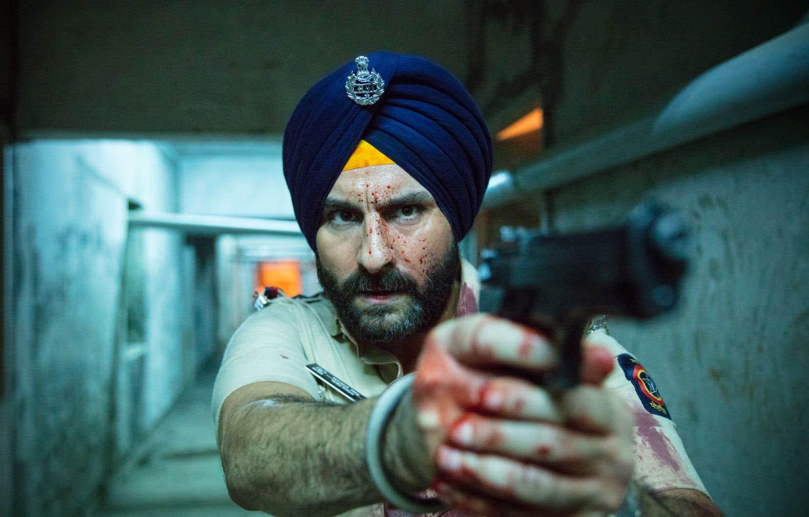 La série met en scène un policier de quartier, Sartaj (notre photo), qui, après avoir été témoin du suicide de Gaitonde, a 25 jours pour sauver 26millions d'habitants de la région de Bombay.
