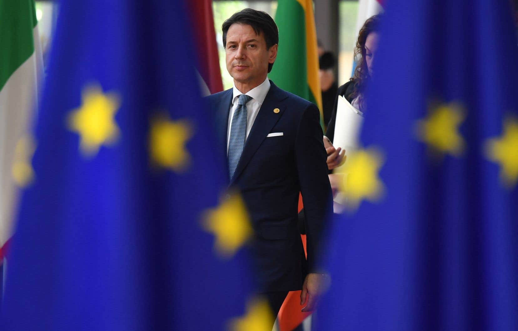 Le chef du gouvernement populiste italien, Giuseppe Conte