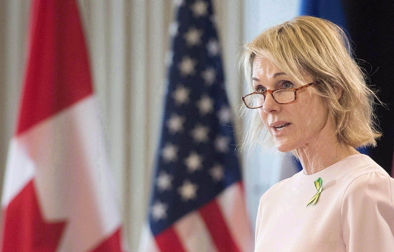 L'ambassadrice américaine au Canada, Kelly Craft