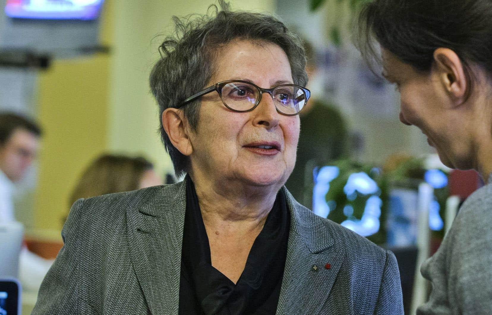 L'ancienne directrice du «Devoir» et de la Grande Bibliothèque Lise Bissonnette