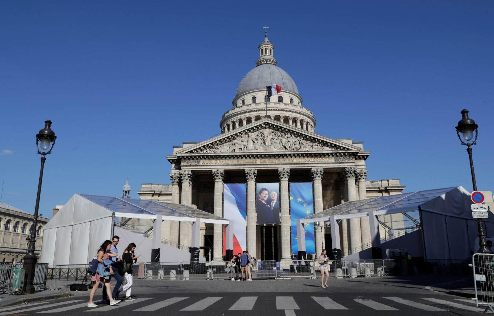 L'icône du combat pour la mémoire de la Shoah, de la réconciliation européenne et de la lutte pour les droits des femmes entrera dimanche au Panthéon, la nécropole laïque des «grands hommes».