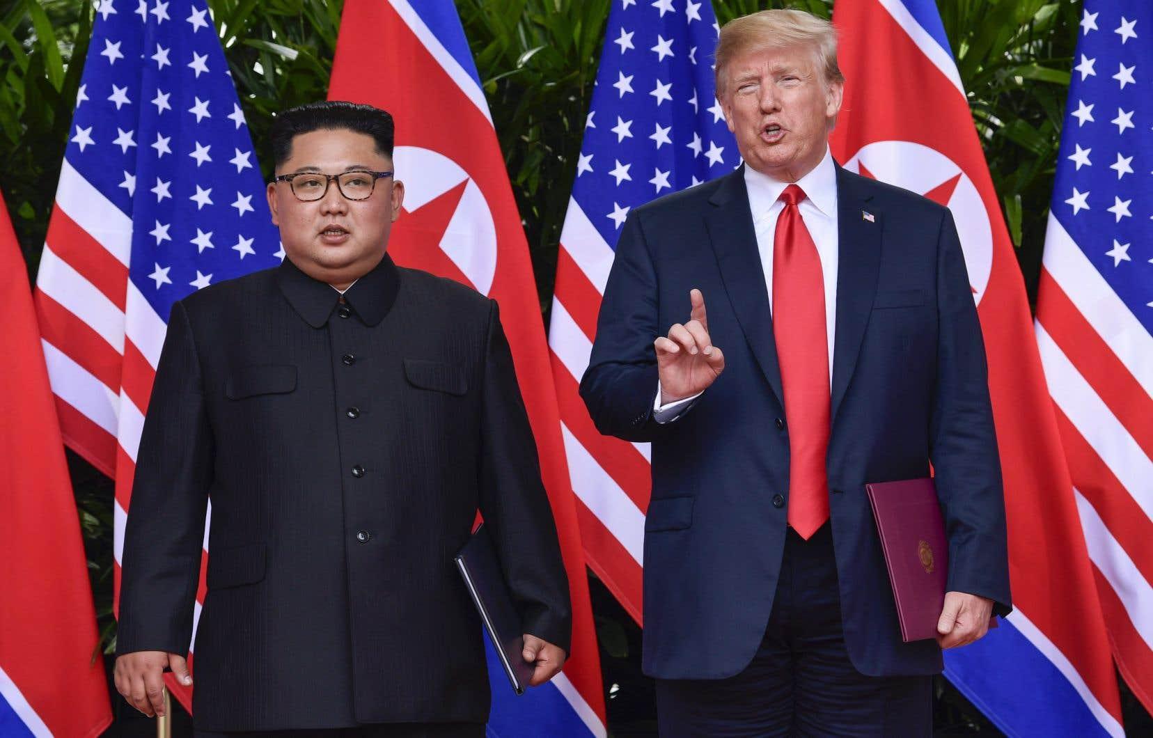 L'objectif de Mike Pompeo sera de «poursuivre les consultations et mettre en oeuvre les progrès réalisés par [Kim Jong-un] et [Donald Trump] à Singapour» le 12juin.
