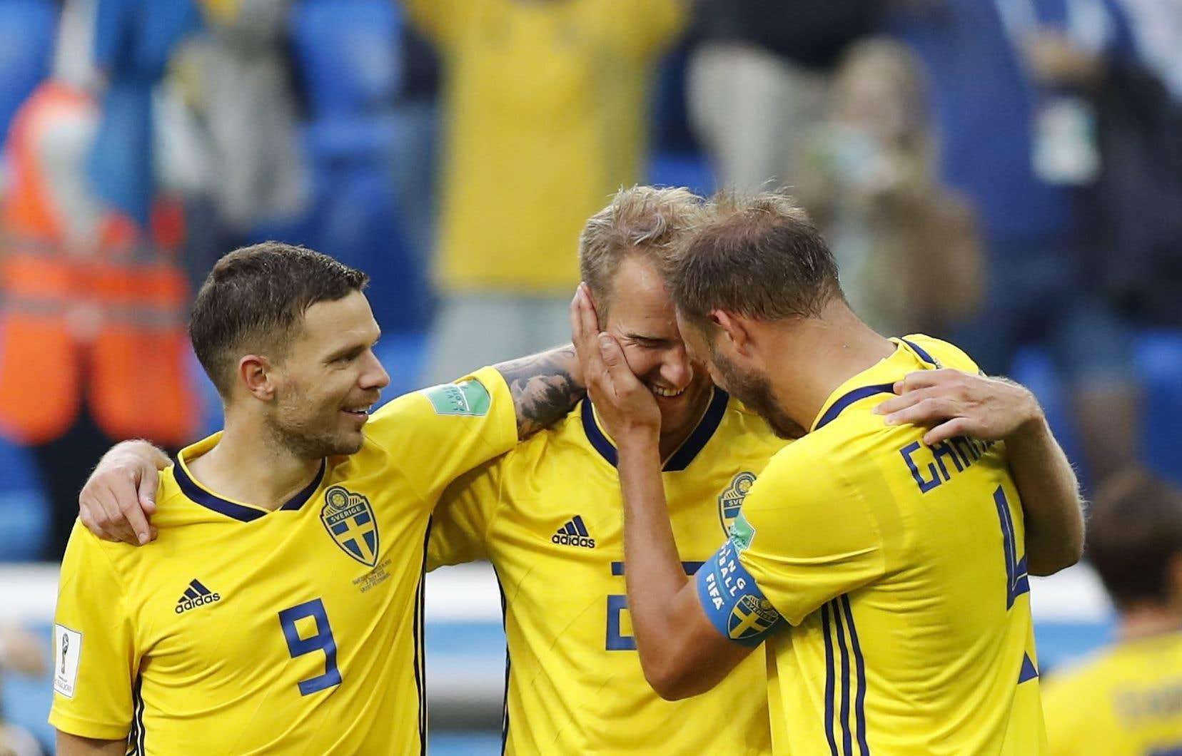 C'est une Suède très opportuniste qui atteint ce stade de la compétition pour la première fois depuis 1994.