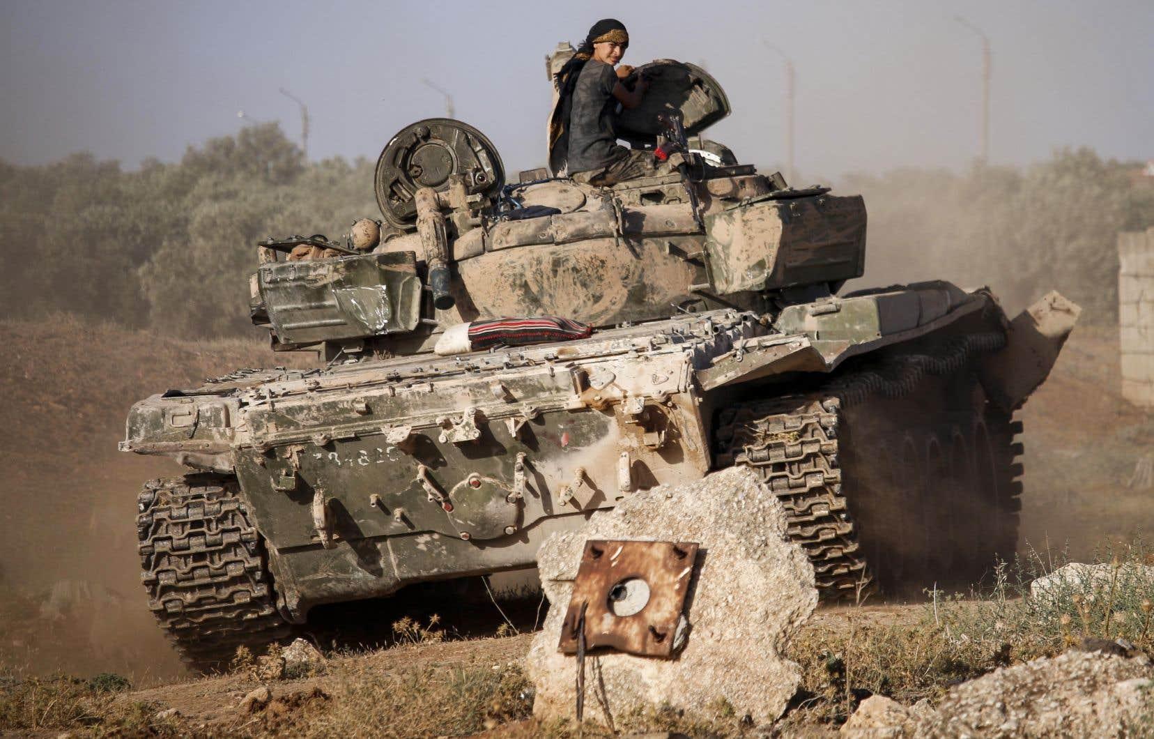 Tous les appels internationaux à l'arrêt de l'offensive syrienne dans le sud-ouest du pays sont restés vains jusqu'à présent.