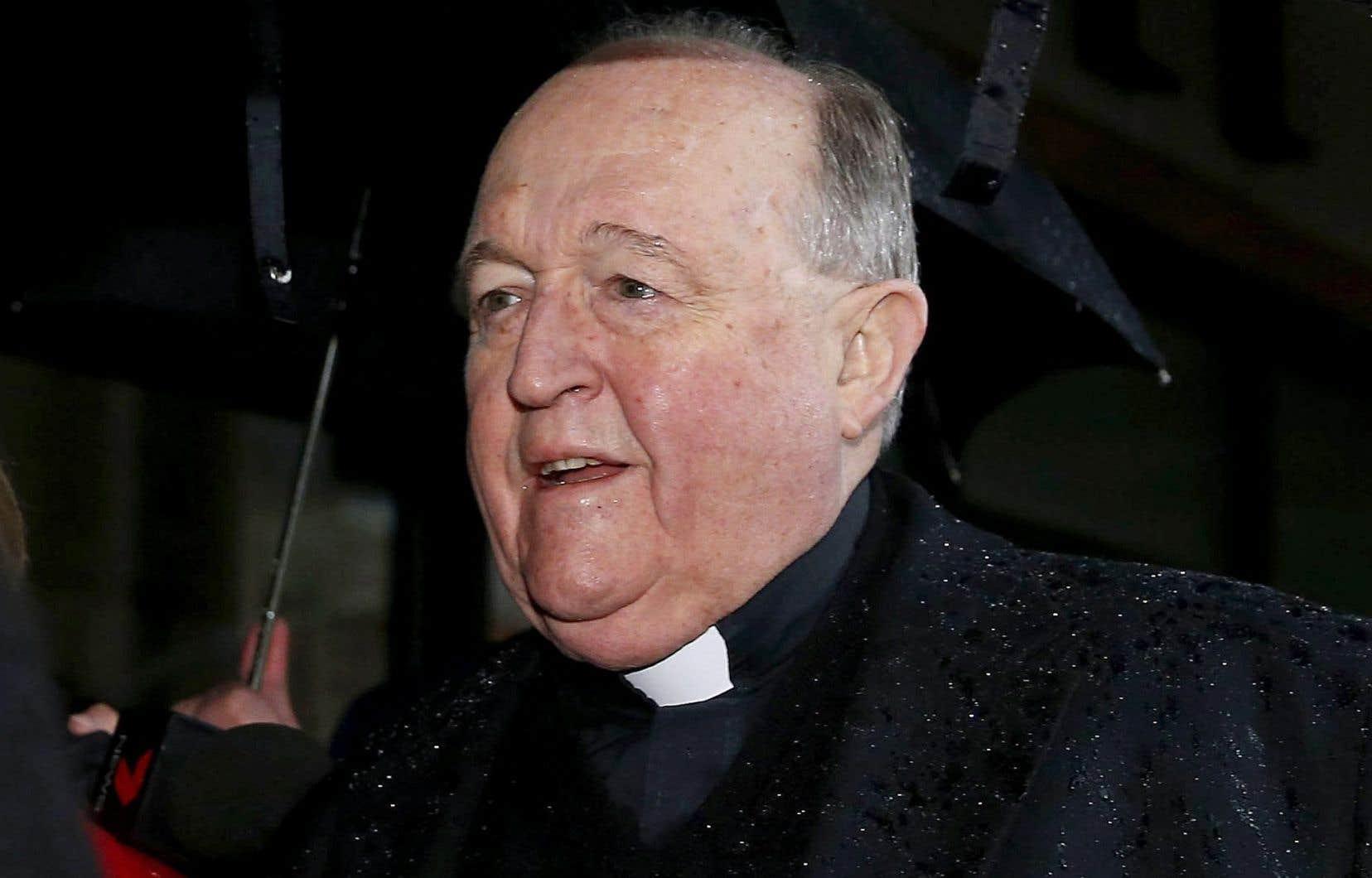 L'archevêque d'Adélaïde, Philip Wilson