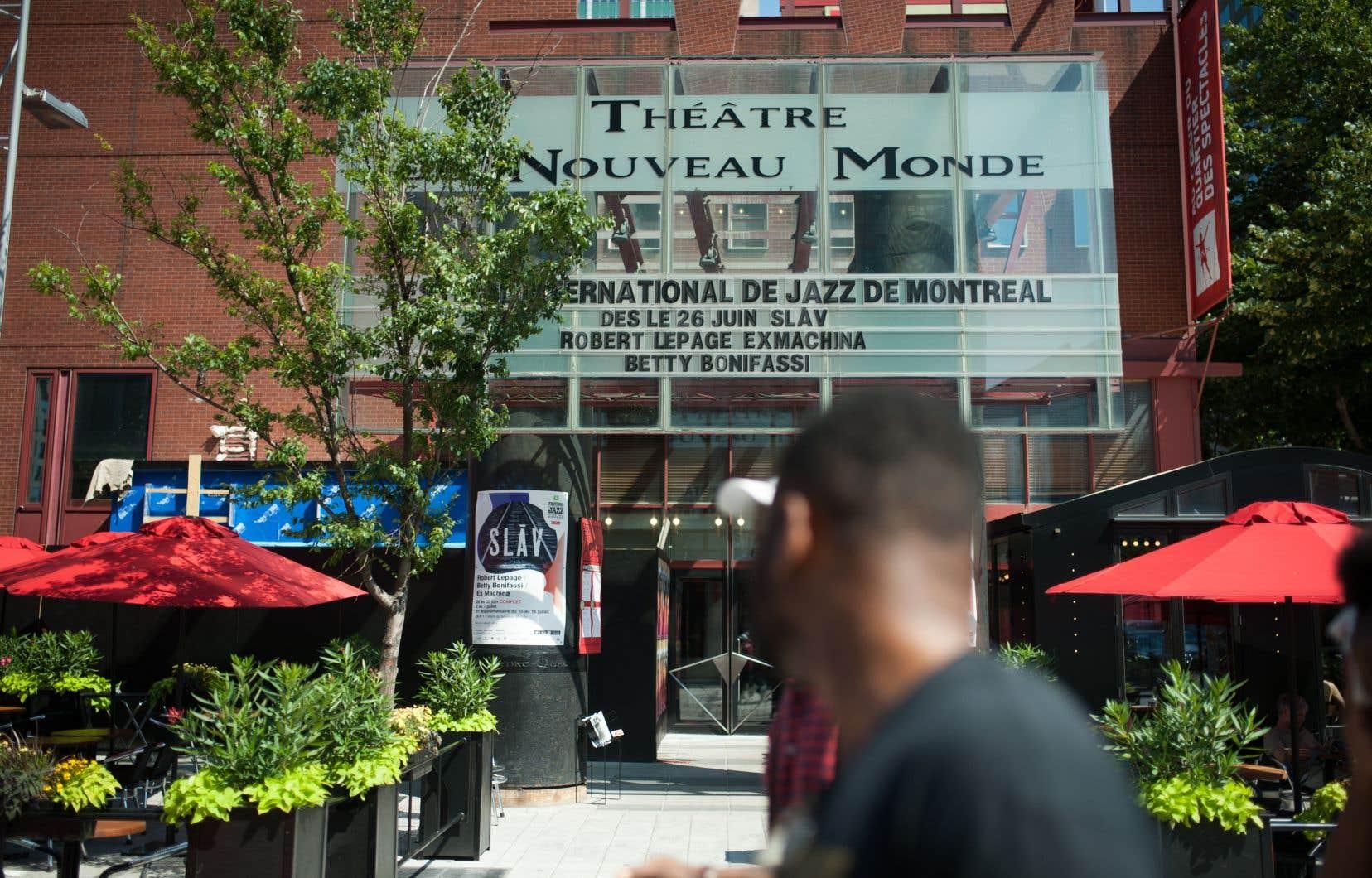 Le spectacle de Robert Lepage et Betty Bonifassi a vu sa diffusion écourtée.