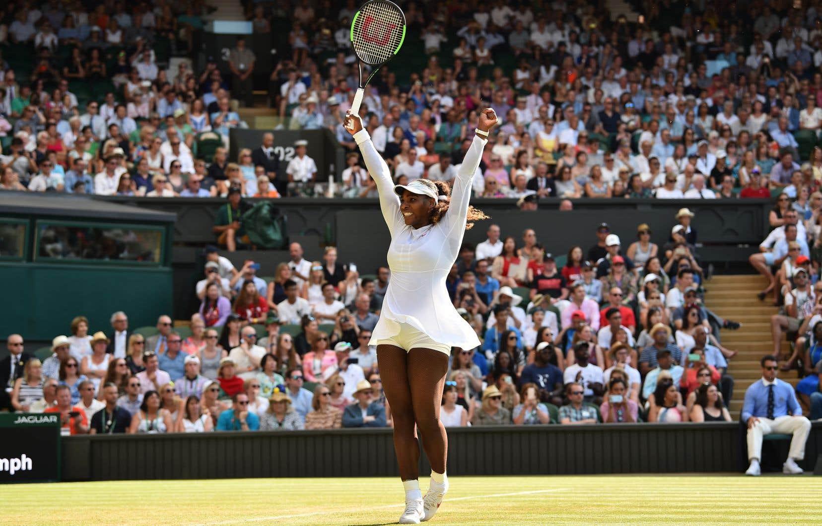 Serena Williams est la seule joueuse encore en lice à avoir déjà gagné le tournoi.