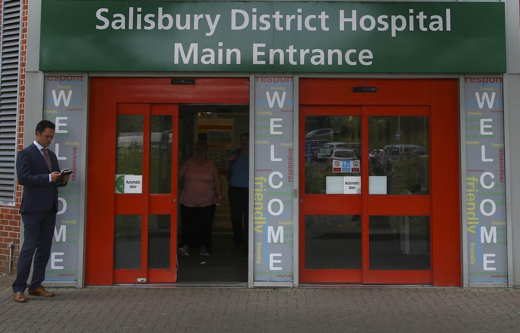 Dawn Sturgess, 44 ans, est morte dimanche soir à l'hôpital de Salisbury.