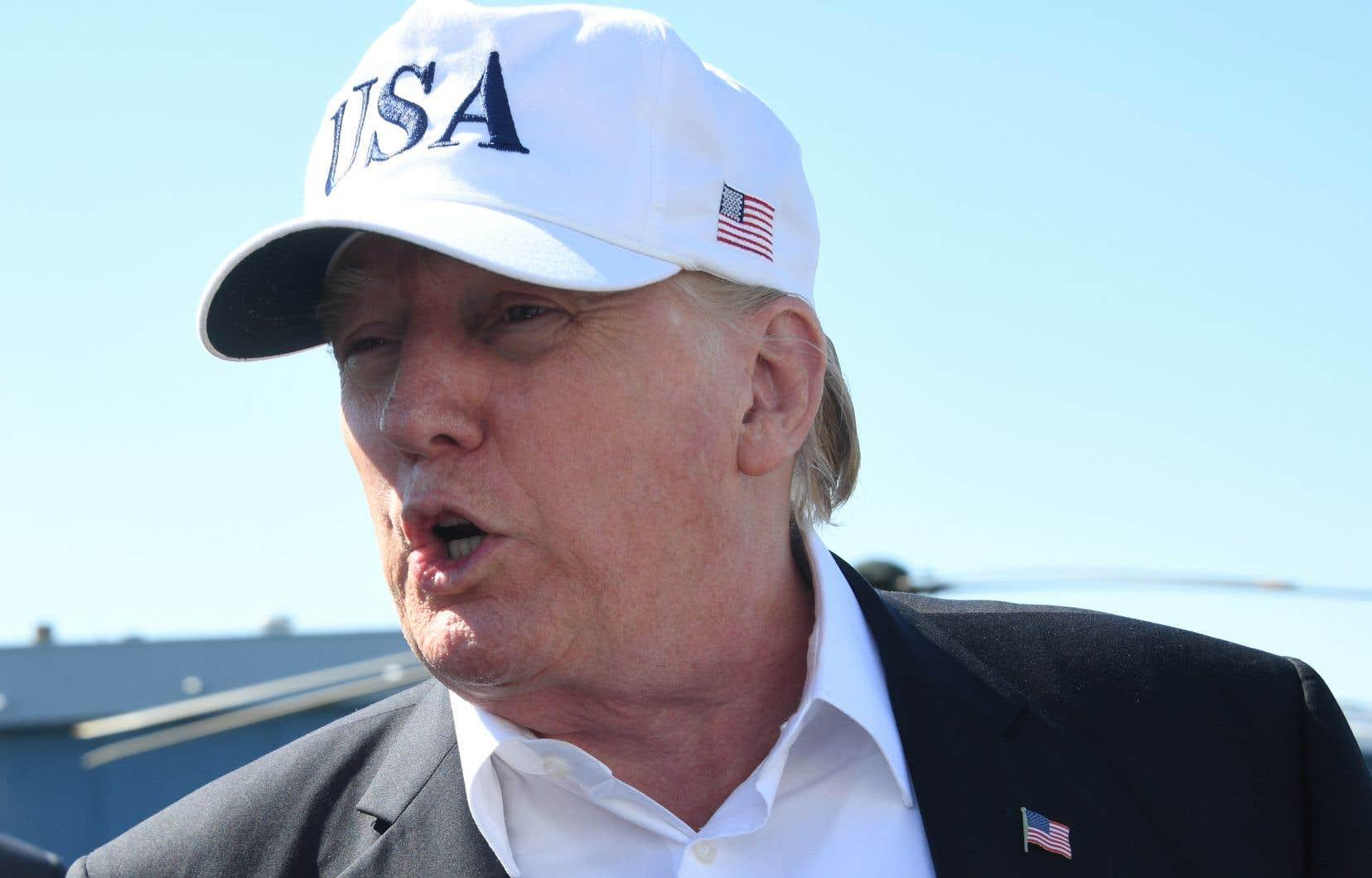 Lors du sommet de l'OTAN l'an dernier, Donald Trump avait déjà reproché à ses alliés de devoir «d'énormes sommes d'argent» à l'OTAN.