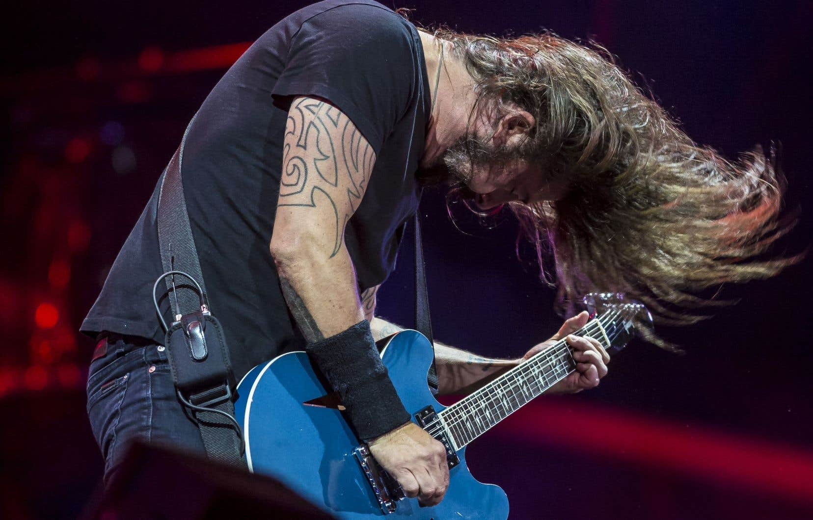 La musique des Foo Fighters se veut une sorte de cours intensif d'histoire du rock.