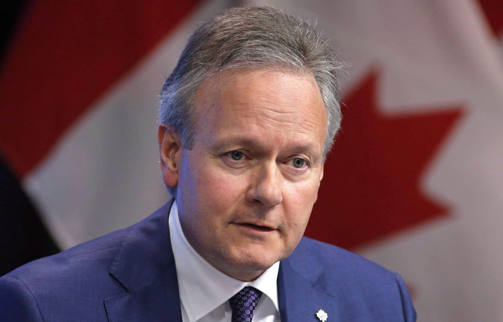Le gouverneur de la Banque du Canada, Stephen Poloz