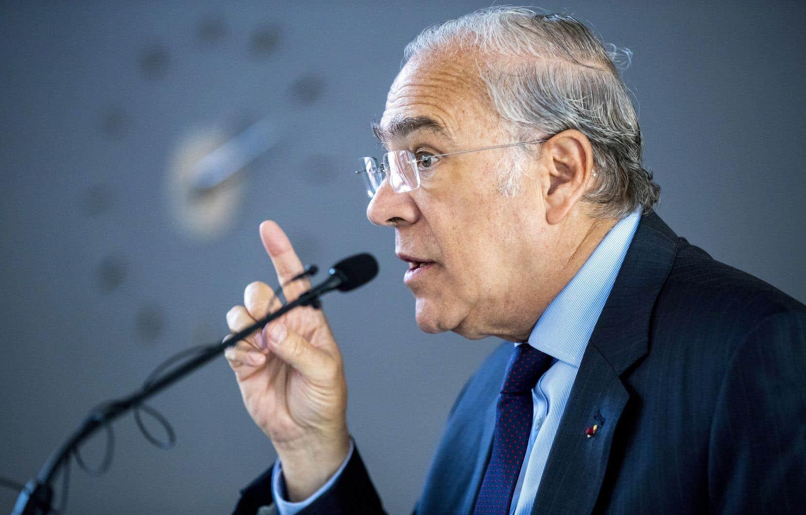 Le secrétaire général de l'OCDE, Ángel Gurría, avait dit à la présentation du projet qu'il s'agissait d'un accomplissement historique sur la longue route qui nous mènera à la justice fiscale internationale.