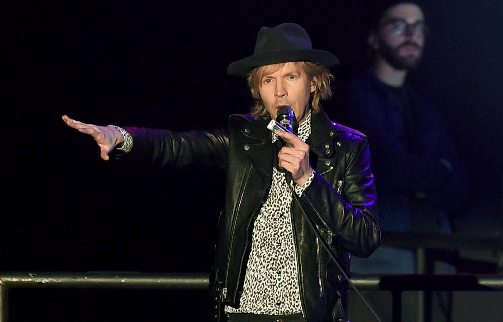 Beck, lors de son spectacle à Inglewood, aux États-Unis, le 19 janvier dernier
