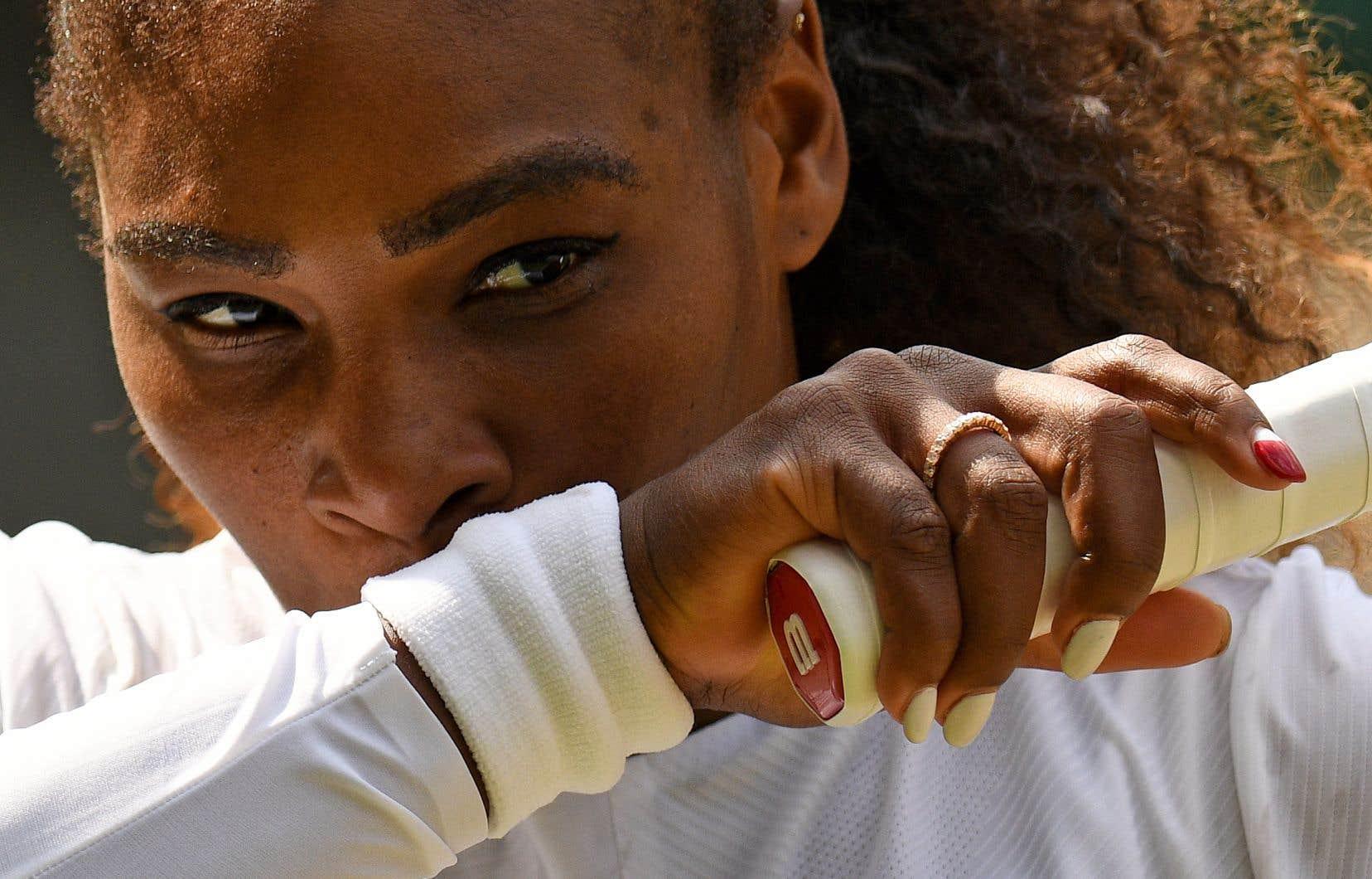 Il ne reste plus qu'un match à gagner à Serena Williams, samedi en finale, face à la renaissante Allemande Angelique Kerber, l'une des rares à l'avoir gênée ces dernières années.