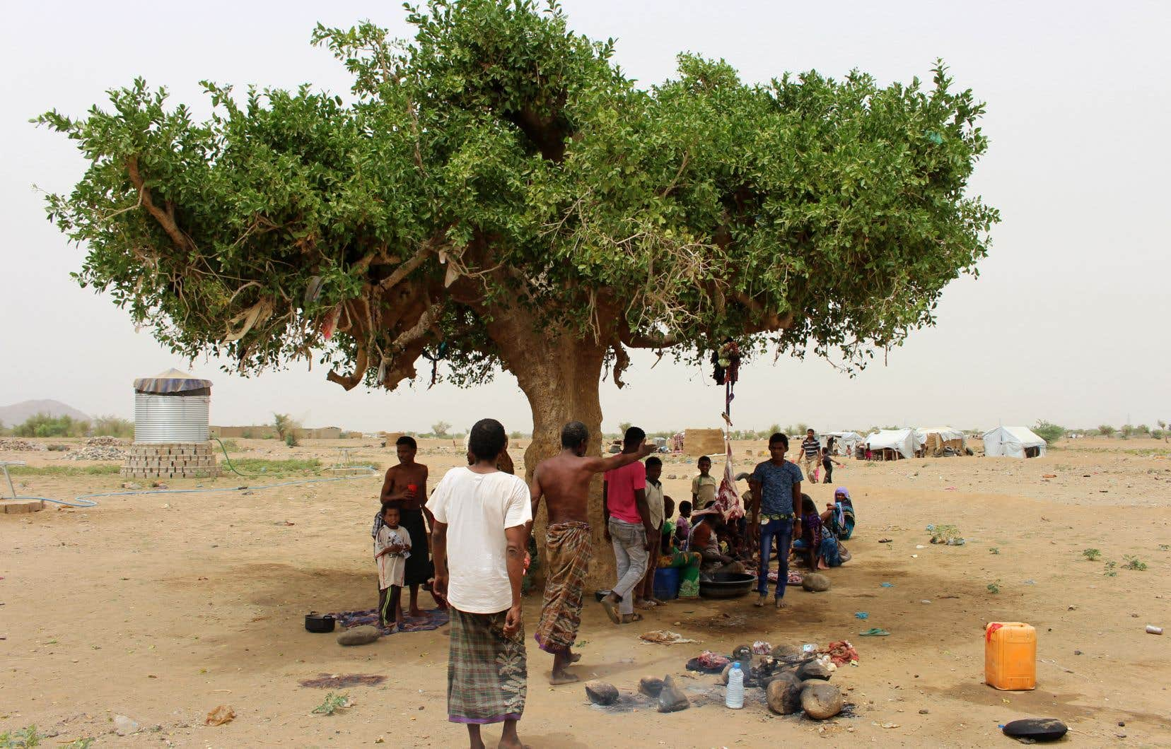 Le conflit au Yémen a déjà fait près de 10000 morts et provoqué «la pire crise humanitaire au monde», selon l'ONU.