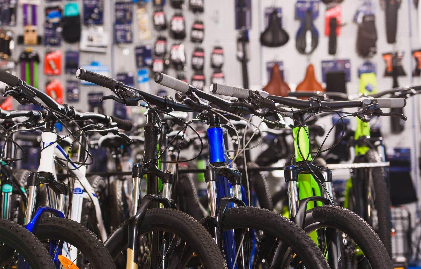 Sur la nouvelle liste de produits chinois frappés par les sanctions de Washington figurent notamment les vélos.