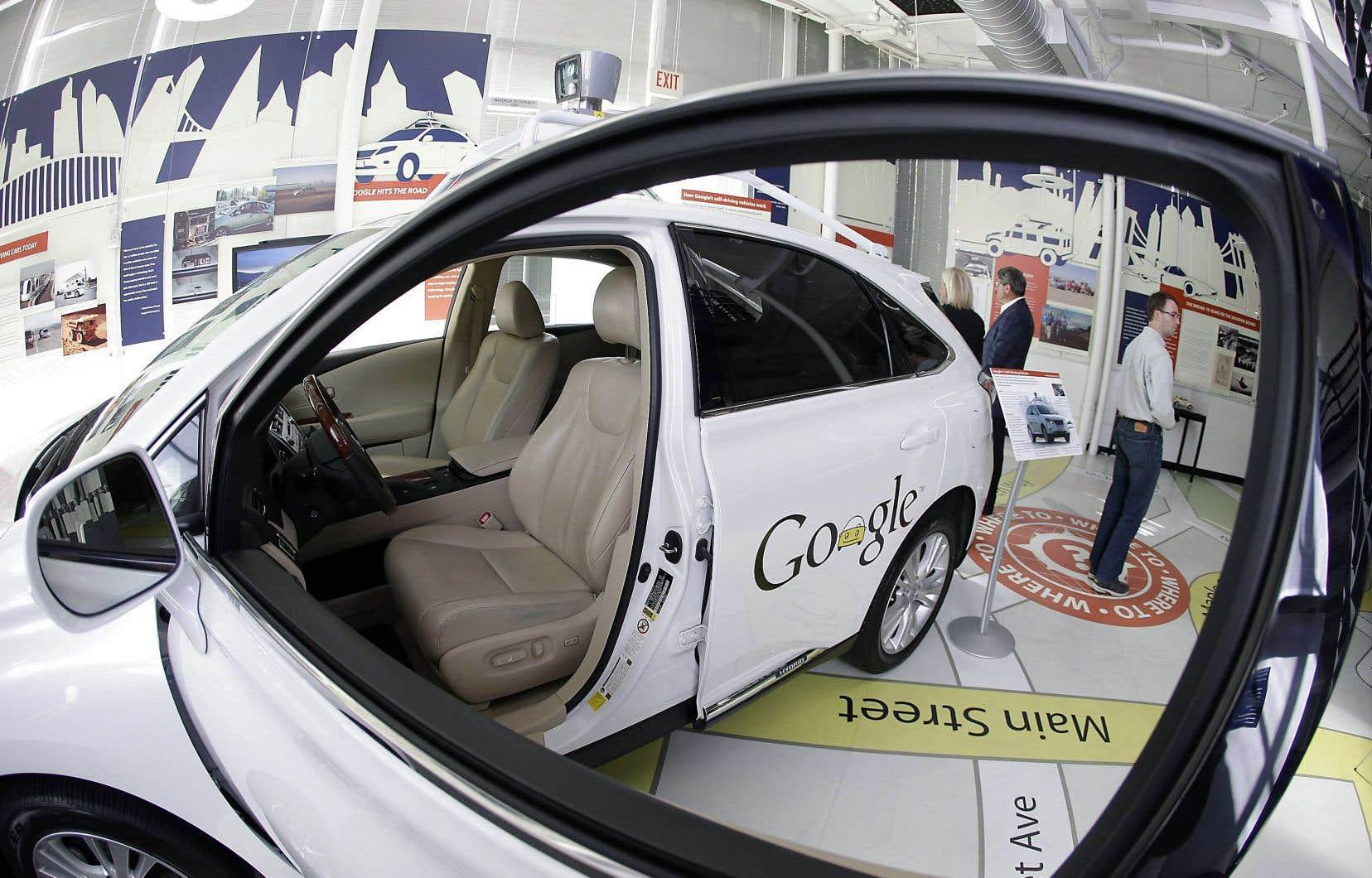 L'arrivée sur le marché de voitures autonomes, comme celle de Google, forcera les assureurs à mieux déterminer la responsabilité lors d'accidents.