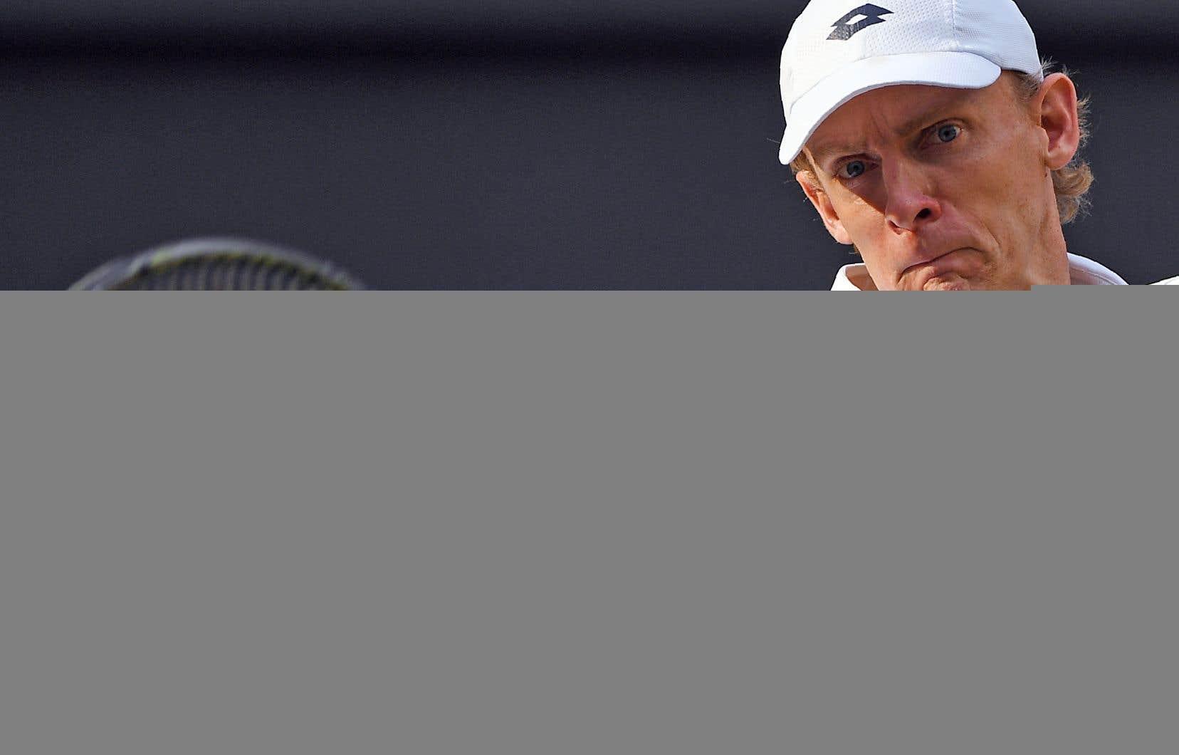 Kevin Anderson affrontera le vainqueur de l'autre demi-finale, qui opposera Rafael Nadal à Novak Djokovic.