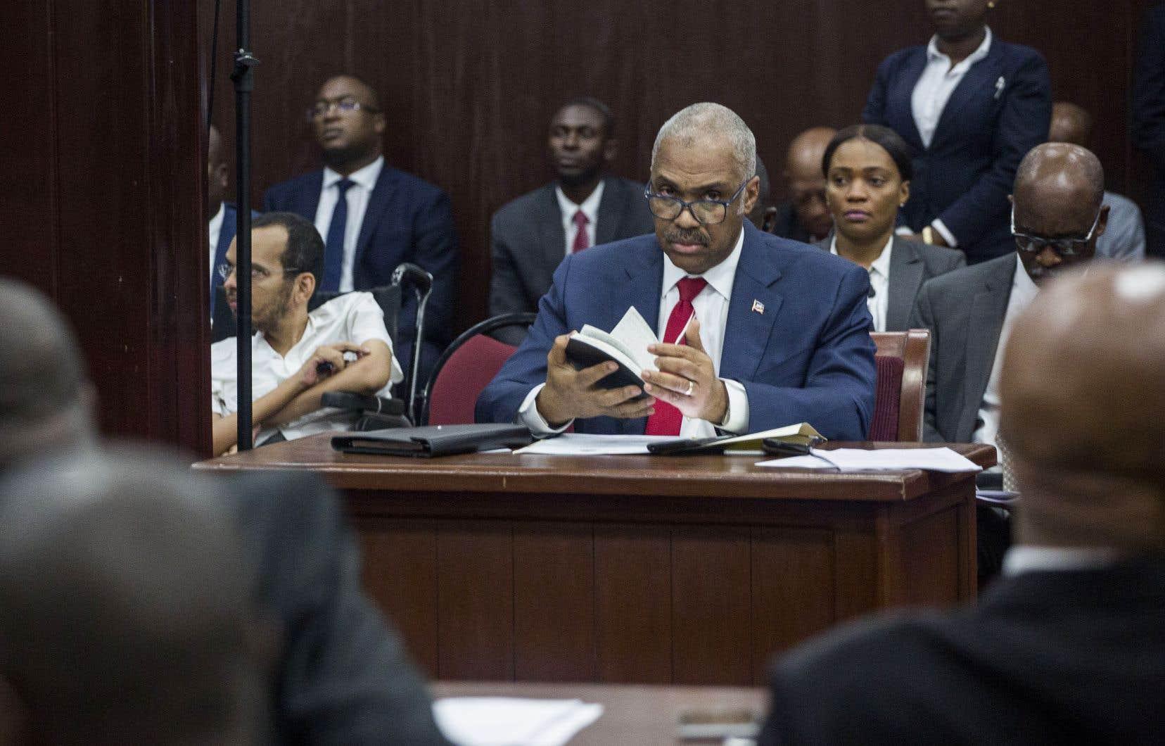 Le premier ministre haïtien Jack Guy Lafontant a annoncé samedi avoir démissionné dans une déclaration à la tribune de la Chambre des députés.