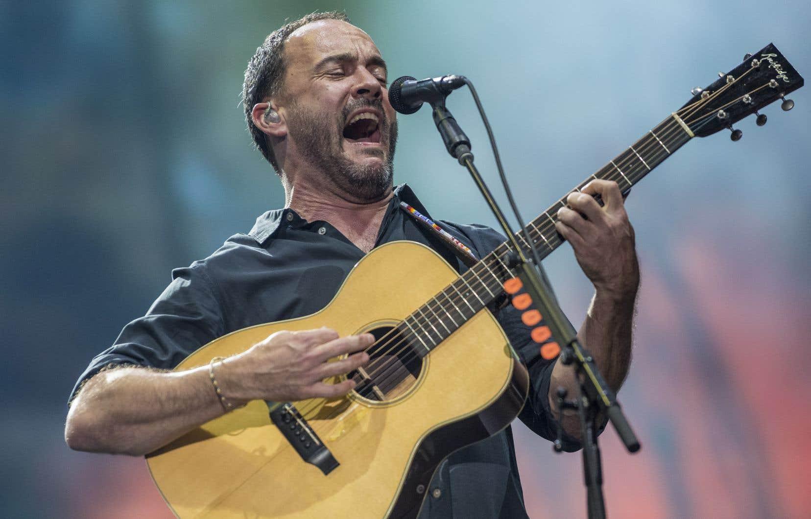 Dave Matthews Band s'est produit pour la première fois dans la capitale nationale, dans le cadre du Festival d'été de Québec.
