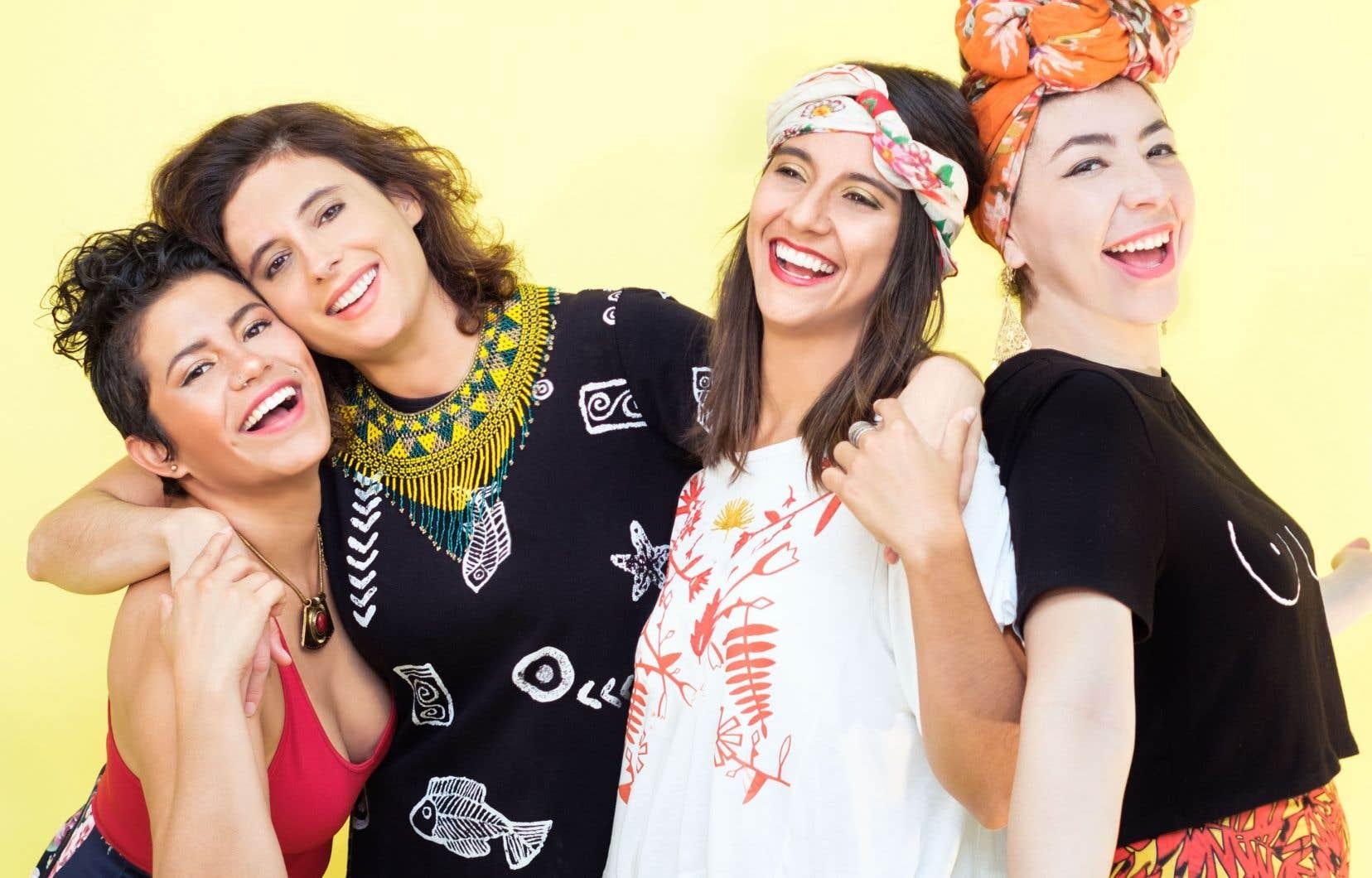 Ensemble, Lara Klaus, Daniela Serna, Mafer Bandola et Sara Lucas incarnent avec brio la façon dont les musiques traditionnelles d'Amérique latine perdurent aujourd'hui en parvenant à se renouveler.