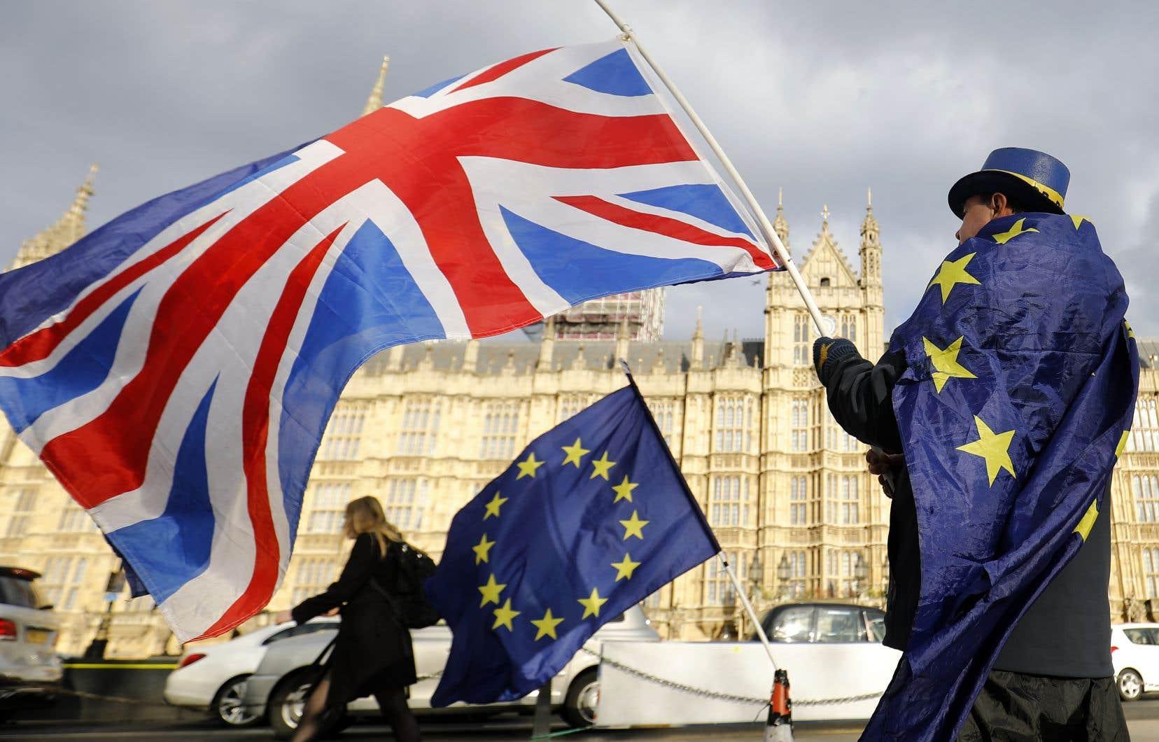 À moins d'un an de son entrée en vigueur, les manisfestations anti-Brexit se multiplient en Angleterre.