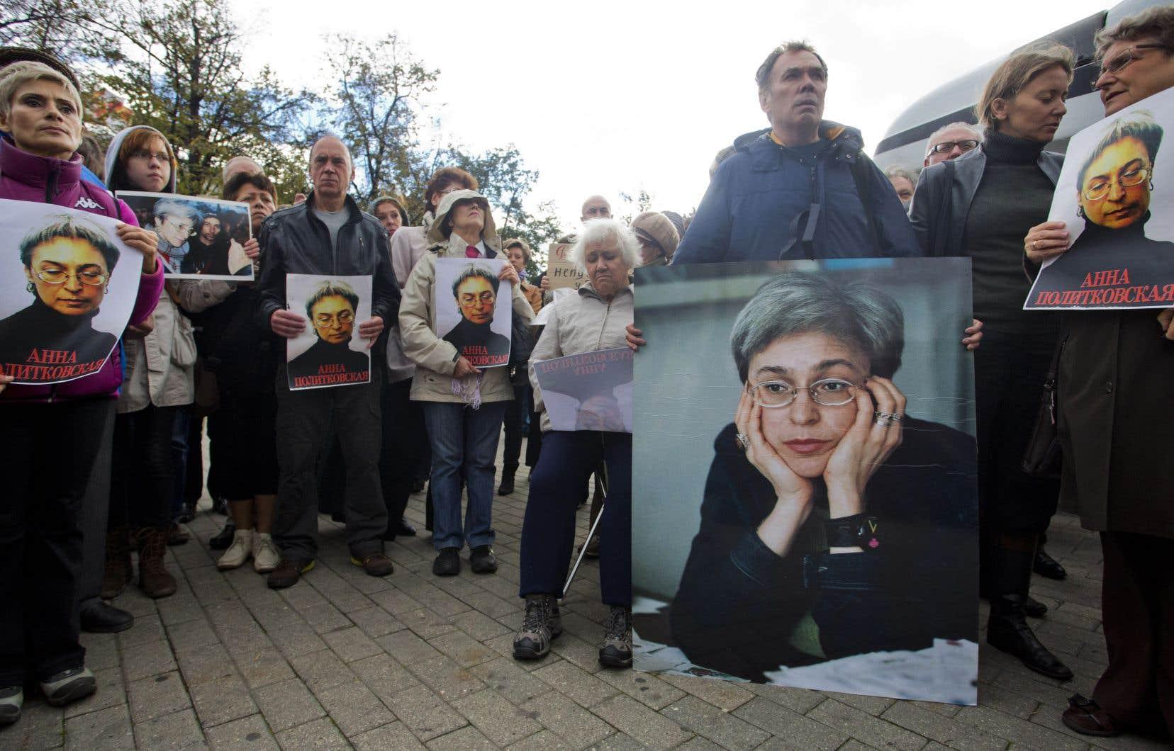 La journaliste Anna Politkovskaïa avait été assassinée en 2006.