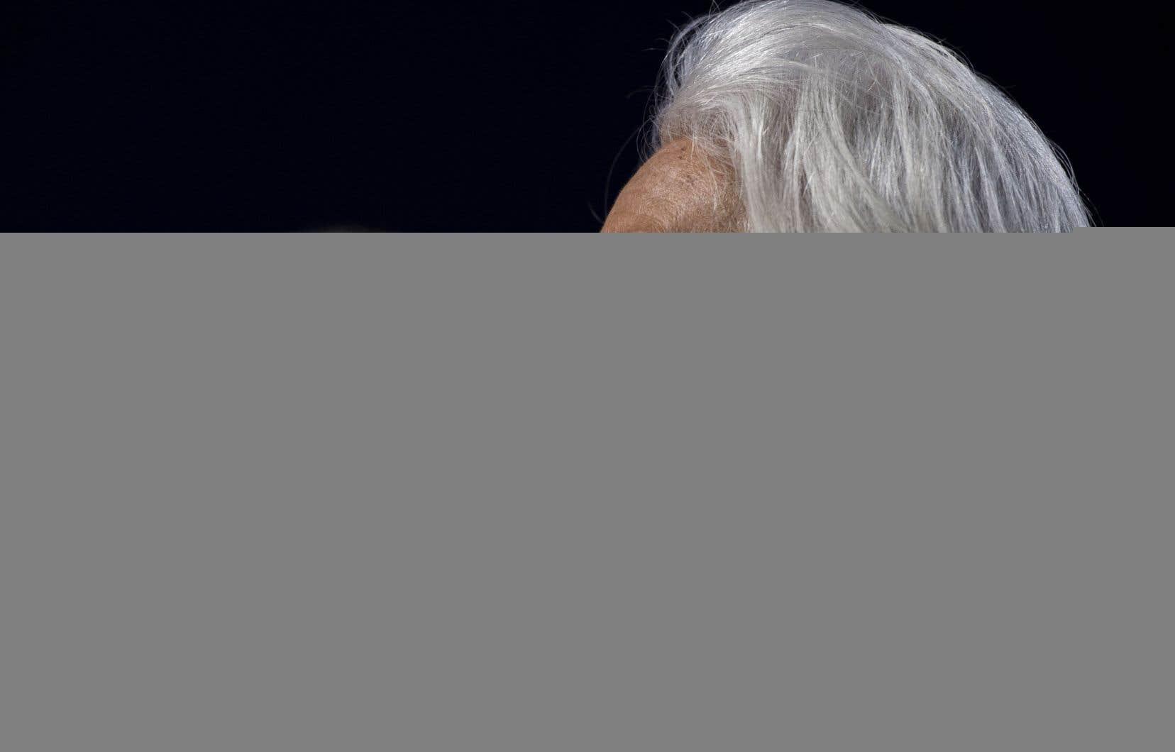 La directrice générale du Fonds monétaire international,Christine Lagarde