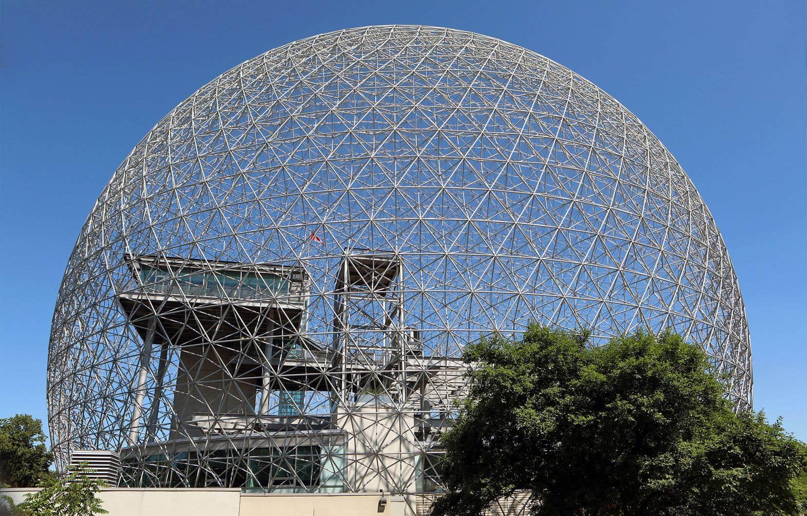 Le pavillon des États-Unis à l'Exposition universelle de 1967 est devenu un bâtiment emblématique du paysage de Montréal.