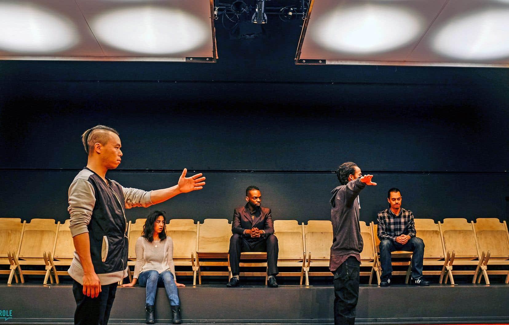 L'équipe de production de la pièce «Fredy» a pratiqué la médiation culturelle pour aborder l'histoire du jeune homme décédé sous les balles d'un policier à Montréal-Nord en 2008.