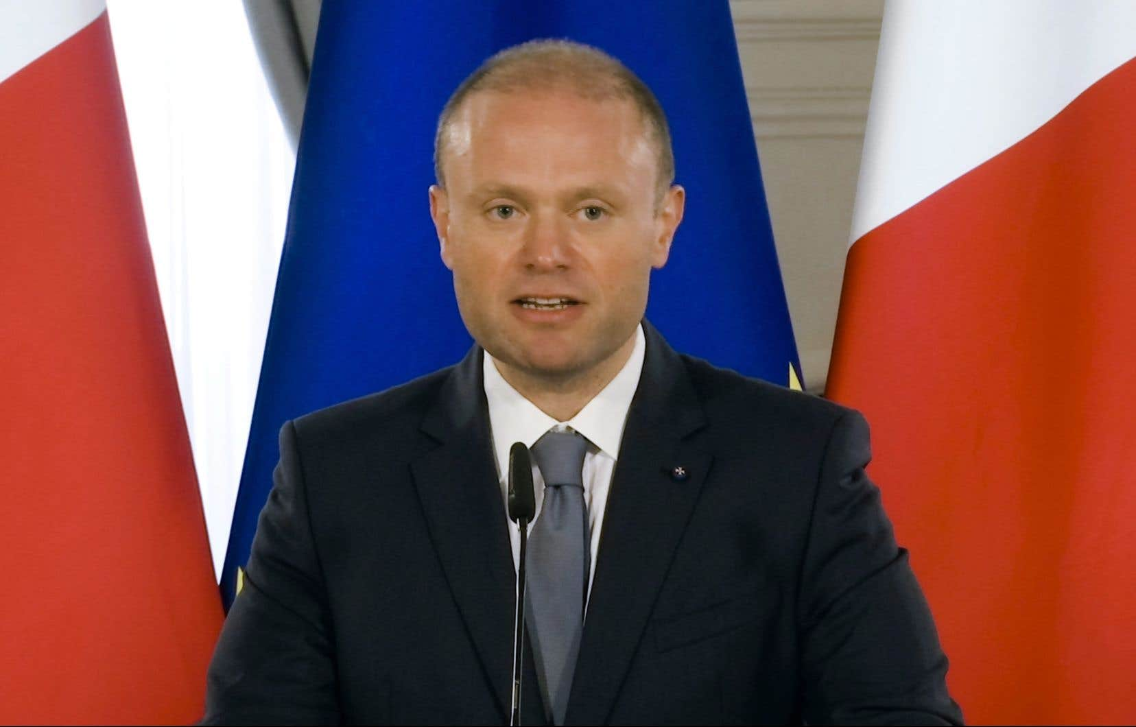 Le premier ministre maltais, Joseph Muscat